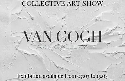Collective Art Show at Van Gogh Art Gallery – Madrid
